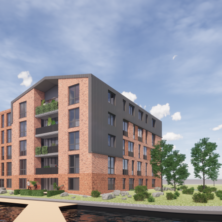 Ontwikkeling 28 appartementen én woonzorgvilla Bergen op Zoom Vrijborg Vught