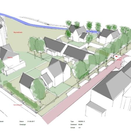 Nieuwbouw 13 woningen en herbestemming pastorie Boxtel Vrijborg Vught
