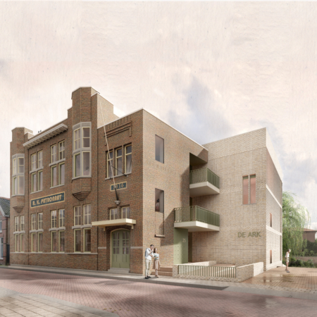 Ontwikkeling 18 woonzorg stadsappartementen in Tiel Vrijborg Vught