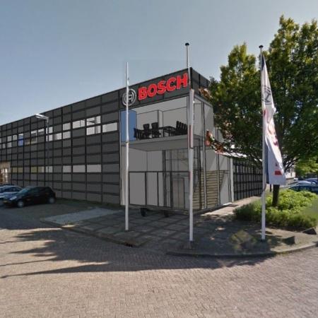 Revitalisatie bedrijfspand Bosch Packaging Vrijborg Vught