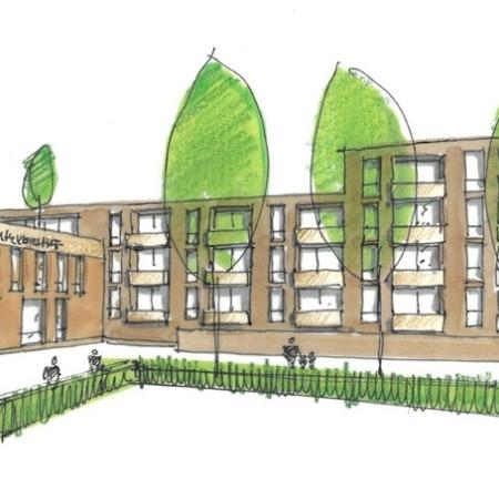 Ontwikkeling seniorenappartementen en gezondheidscentrum Reeshof Tilburg Vrijborg Vught