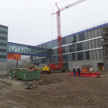 Bouwcontrole nieuwbouw DC  Vrijborg Vught